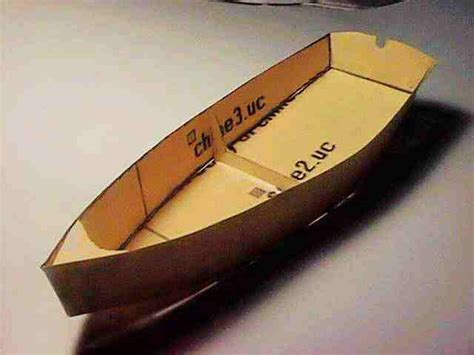 How To Make Ship Models In Paper - modelmaking