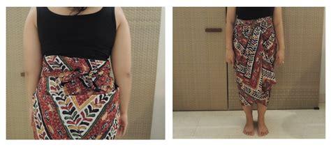 tutorial kain batik menjadi rok tips bagaimana cara memilih kain batik bali yang benar