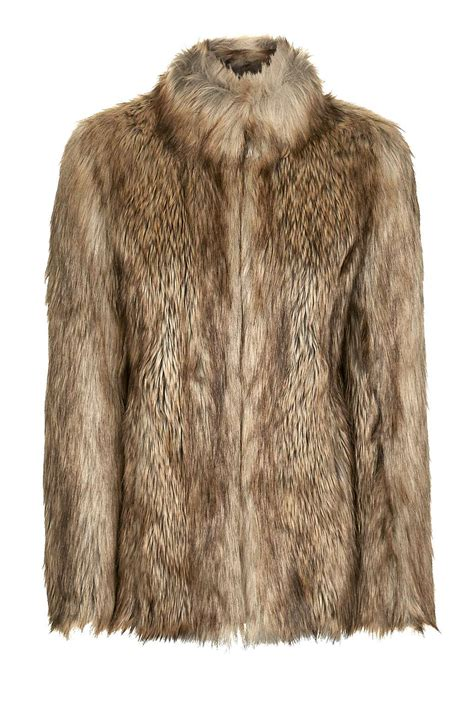 fur coat vintage faux fur coat topshop