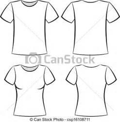 vector clip art of t shirt template white t shirt blank