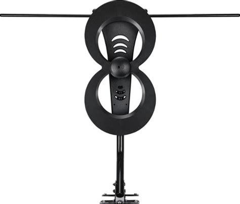 antennas direct clearstream 2max indoor outdoor hdtv antenna black c2mvj 5 best buy