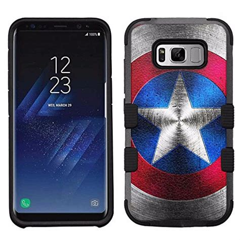 Heavy Rugged Armor Soft Cover Casing Samsung Galaxy A8 captain america phone cases