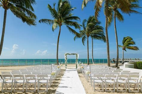 beachfront wedding venues in new 2 southernmost resort wedding ceremony reception venue florida the florida and