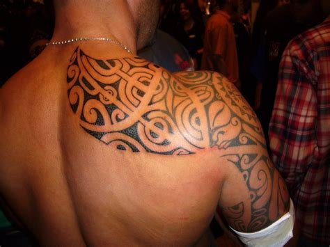 shoulder tribal tattoos for guys tattoos for shoulder designs