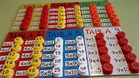 tablas de multiplicar juego para el aula s 250 per idea diy para aprender las tablas de multiplicar 1