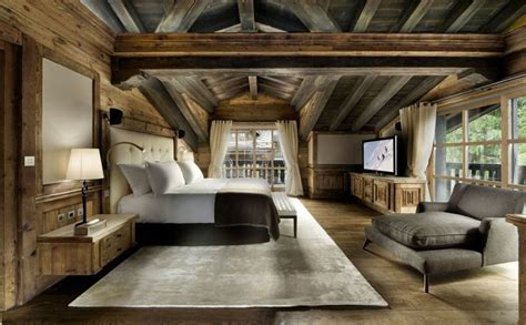 decoration interieur chalet montagne  idees inspirantes