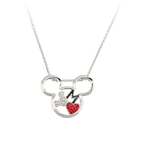 Disney Mickey Necklace Kalung mickey mouse necklace by arribas mickey with disney store