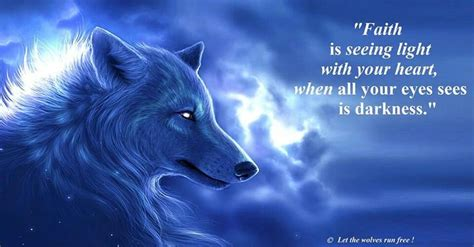 seeing blue lights spiritual wolf art sayings quotes that catch my eye or warm my