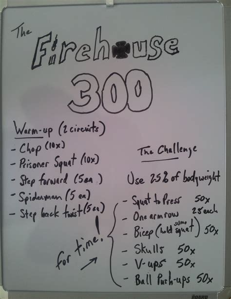 firefighter 300 challenge workout firefighter fitness