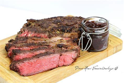 comment cuisiner basse cote de boeuf basse c 244 te de boeuf sauce barbecue au daniel s 174