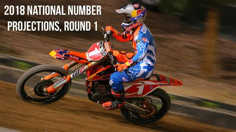 ama pro motocross numbers 2018 ama national number projections 1 motocross