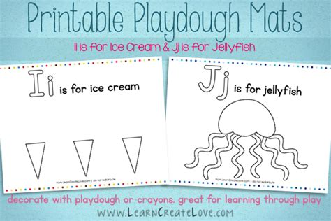 playdough mats booklet entire booklet printable printable playdough mats i j