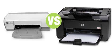 Printer Laser Inkjet difference between laser printer and inkjet printer