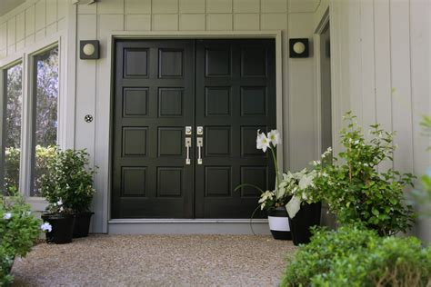 front entry 14 black double front doors carehouse info