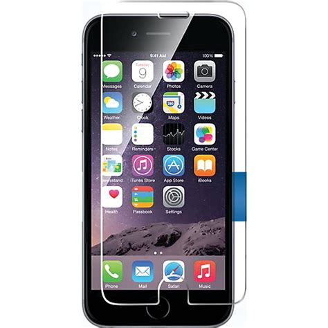 bloopro clear premium tempered glass for iphone 6 blp ip6ps b h