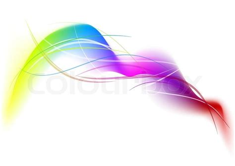 color lines gradient background with color lines stock vector