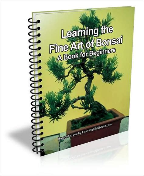 libro bonsai for beginners learning the fine art of bonsai a book for beginner s by d p brown nook book ebook