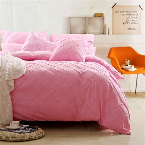 solid pink comforter pink queen size bedding promotion shop for promotional