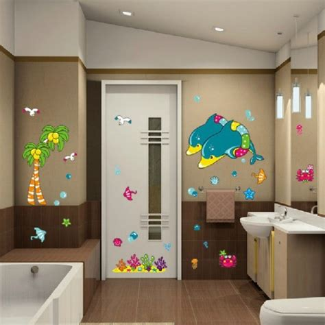 bathroom wall decals canada bathroom tile stickers beautiful sea bathroom wall