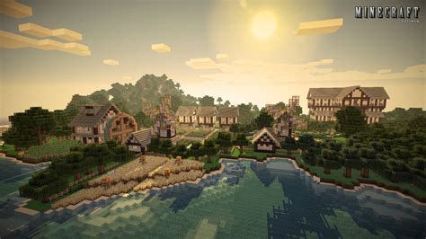 Country Farm House by Minecraft Wallpaper Beach Farm By Lilcrowstudios On Deviantart