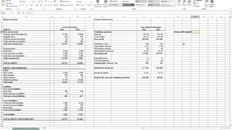profit spreadsheet template spreadsheet templates for