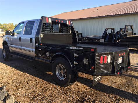 bradford truck bradford built flatbed 4 box steel