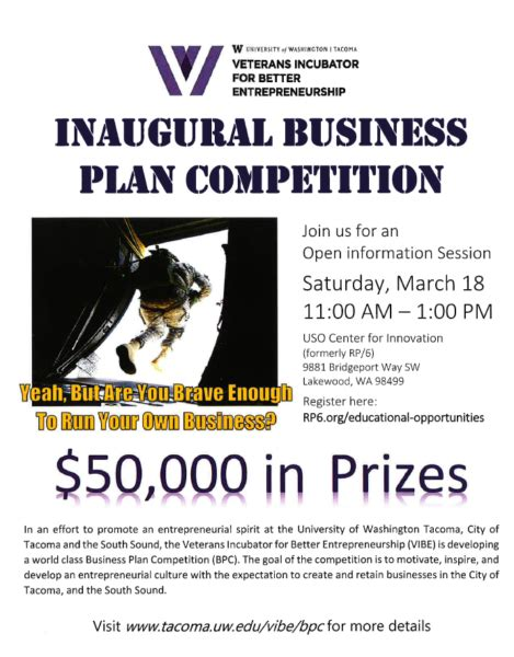 Business Plan Compeitions Mba by Business Plan Competition Washington Center For