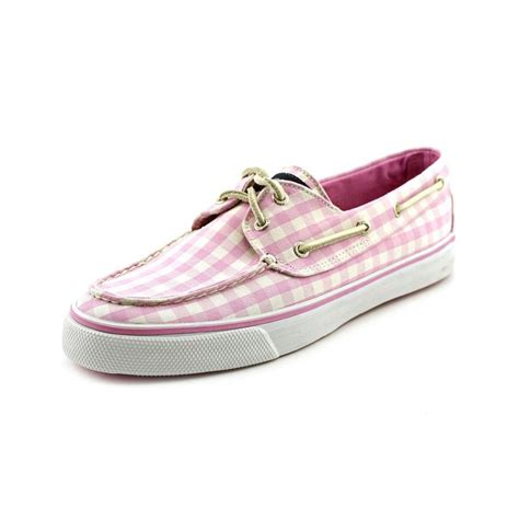 sperry top sider sperry top sider bahama canvas pink