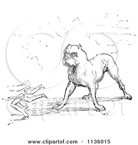 guard dog coloring page preview clipart