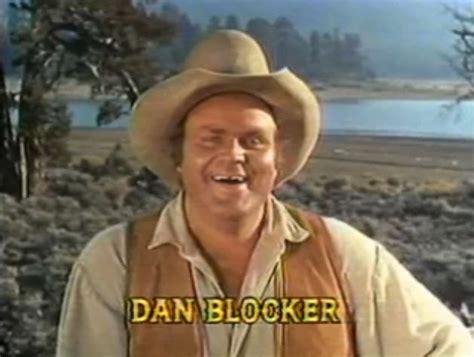 Blockers Actors File Dan Blocker In Bonanza Opening Credits Episode Bitter Water Jpg Wikimedia Commons