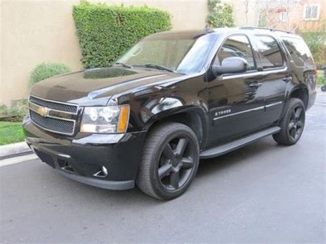 all car manuals free 2007 chevrolet tahoe user purchase used 2007 chevrolet tahoe ltz in bristow virginia united states for us 14 500 00
