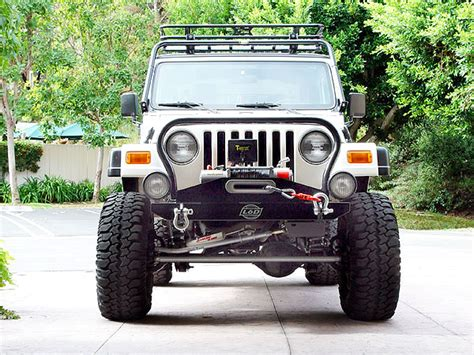 Lod Jeep Bumper Lod Jeep Front Bumper Winch Plate And Nose Guard