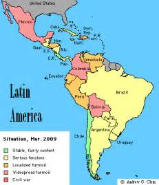 current map of south america andrew clem america current situation