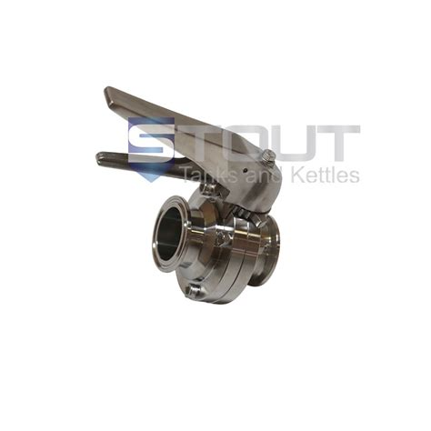 Butterfly Valve 1 5 1 5 in butterfly valve with a squeeze trigger and