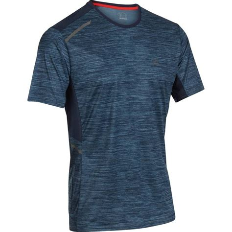 Tshirt Kaos Running run s t shirt print decathlon