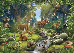 Can listen to the real sounds of the forest animals here the kids