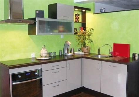 Couleur Mur Pour Cuisine #1: chaux_coloree_vert_stuc_cuisine-z.jpg