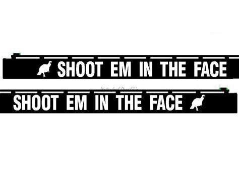 Gun Barrel Stickers