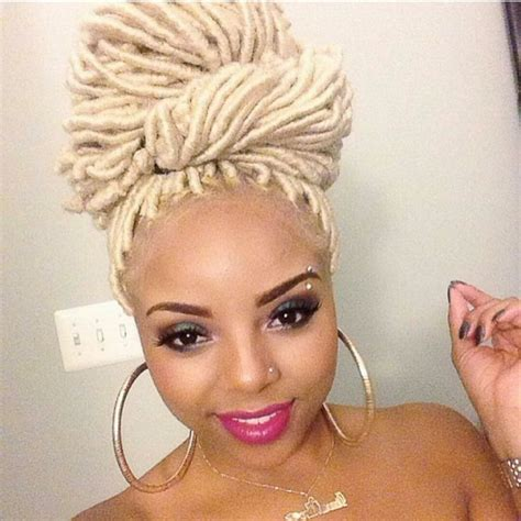 steps for doing yarn dreads faux locs on natural hair in 5 steps tgin