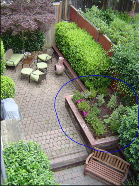 need help planning out a small garden plus fountain
