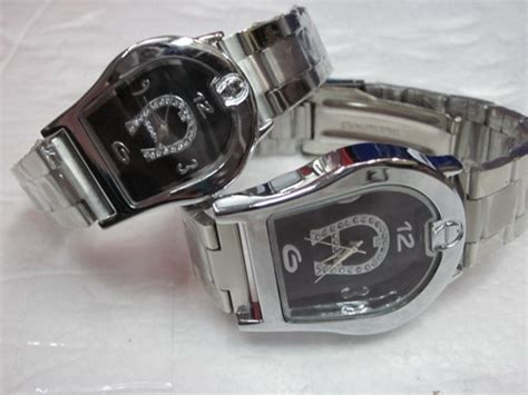 Aigner Sk500 Rantai Silver Black aigner stainless quot ag 159 quot aneka jam store
