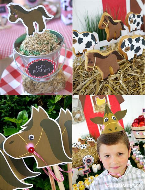 printable farm party decorations my kids joint barnyard farm birthday party party ideas