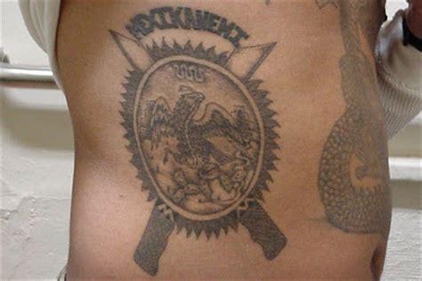 la eme tattoos prison gangs mexikanemi