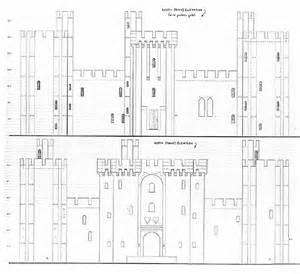 Bodiam Castle Floor Plan by Bodiam Castle Livesize
