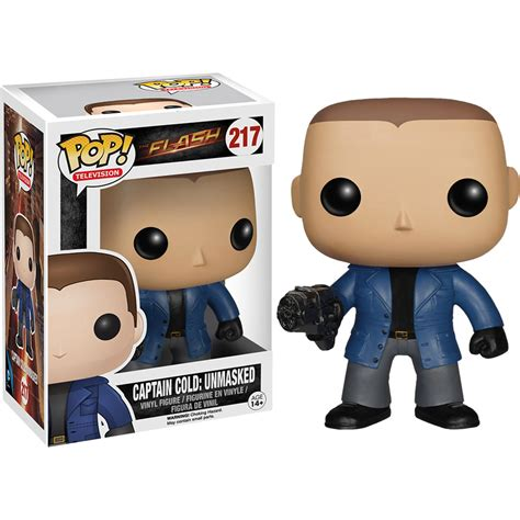 Funko Pop The Flash Captain Cold funko flash captain cold unmasked pop vinyl figure at hobby warehouse