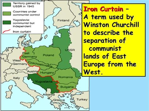 what is the iron curtain cold war 2013 edition