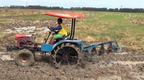 hand traktor quick modifikasi  mesin bajak modern