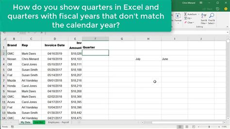 format date as quarter in excel excel choose month function for quarters where fiscal