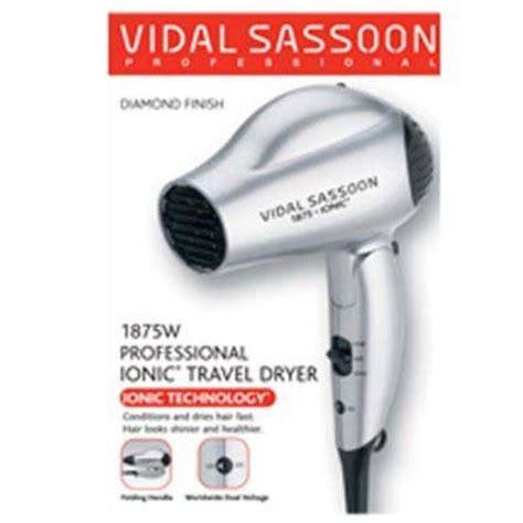 Hair Dryer For Travel Use vidal sassoon vs784 ionic travel hair dryer for worldwide use