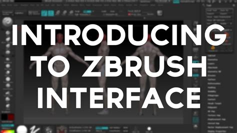zbrush tutorial interface introducing zbrush interface
